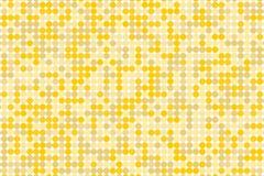 Achtergrond van de pixel de digitale gradiënt Abstract technologiepatroon De gestippelde achtergrond met cirkels, punten, richt k Stock Fotografie
