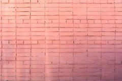 Achtergrond van de rode baksteen Stock Afbeeldingen