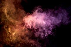 Achtergrond van de rook van vape Royalty-vrije Stock Foto