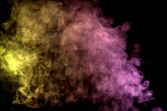 Achtergrond van de rook van vape Royalty-vrije Stock Afbeeldingen