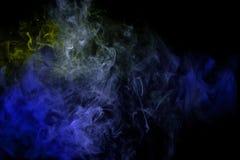 Achtergrond van de rook van vape stock illustratie