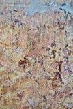 Achtergrond van de rots de abstracte bruine muur Royalty-vrije Stock Afbeeldingen