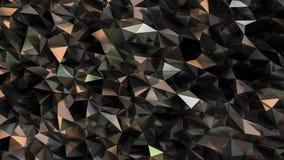 Achtergrond van de spiegel de geometrische veelhoek Royalty-vrije Stock Foto