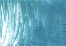 Achtergrond van de staal de blauwe abstracte waterverf Royalty-vrije Stock Afbeelding