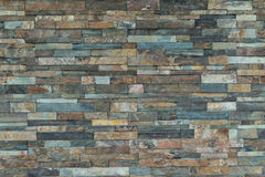 Achtergrond van de steen de baksteen gevormde textuur abstract natuursteen Stock Foto's