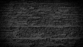 Achtergrond van de steen de zwarte muur Royalty-vrije Stock Afbeelding