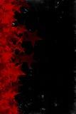 Achtergrond van de Sterren van Grunge de Rode Stock Afbeeldingen