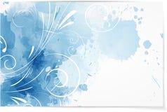 Achtergrond van de Swirly de abstracte waterverf vector illustratie