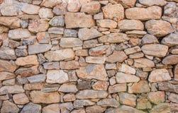 Achtergrond van de textuurfoto van de steenmuur Griekse oude muurtextuur royalty-vrije stock fotografie