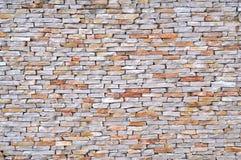 Achtergrond van de textuurfoto van de steenmuur Stock Afbeelding