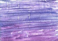 Achtergrond van de Ube de abstracte waterverf Stock Foto's