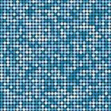 Achtergrond van de vakantie de naadloze blauwe schitterende disco Vector desig Stock Afbeelding