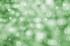 Achtergrond van de Vakantie van de pret de Trillende Groene Stock Afbeeldingen