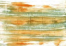 Achtergrond van de Vegas de gouden abstracte waterverf Royalty-vrije Stock Fotografie