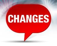 Achtergrond van de veranderingen de Rode Bel vector illustratie