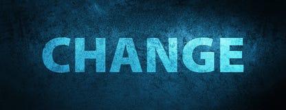 Achtergrond van de veranderings de speciale blauwe banner Stock Afbeeldingen