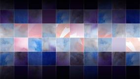 Achtergrond van de vierkanten Stock Foto's
