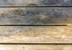Achtergrond van de vliegtuig de lege rustieke houten lijst stock afbeelding