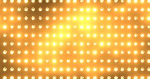 Achtergrond van de vloedlichten van de animatie de moderne motie oranje stock video