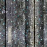 Achtergrond van de waterverf de artistieke muziek - naadloos patroon met nota's Royalty-vrije Stock Afbeelding