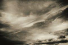 Achtergrond 2 van de wolken Uitstekende Film Stock Foto
