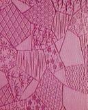 Achtergrond van de zijde de Mauve Kimono Royalty-vrije Stock Foto's