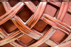 Achtergrond van decoratief hout stock fotografie