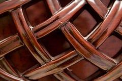 Achtergrond van decoratief hout royalty-vrije stock foto's