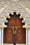 Achtergrond van detail Islamitische architectuur Royalty-vrije Stock Foto