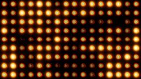 Achtergrond van diodebollen stock footage