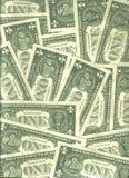 Achtergrond van dollar Royalty-vrije Stock Foto