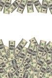 Achtergrond van dollars Royalty-vrije Stock Afbeeldingen