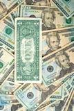 Achtergrond van dollars royalty-vrije stock afbeelding