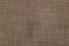 Achtergrond van Donkere Bruine en Witte Textieltextuur Stock Fotografie
