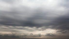 Achtergrond van donkere wolken Royalty-vrije Stock Fotografie
