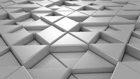 Achtergrond van driehoeken stock videobeelden