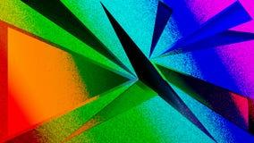 Achtergrond van driehoeks de Stompe abstracte texturen stock illustratie