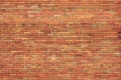 Achtergrond van een bakstenen muur. Stock Afbeeldingen