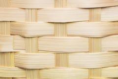 Achtergrond van een rustiek die mandweefsel van hout wordt gemaakt royalty-vrije stock foto's