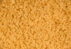 Achtergrond van een ruwe langkorrelige rijst Royalty-vrije Stock Foto's