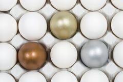 Achtergrond van eieren Royalty-vrije Stock Afbeeldingen
