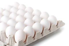 Achtergrond van eieren. Royalty-vrije Stock Afbeeldingen