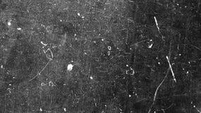 Achtergrond van film op zwarte textuur en witte krassen royalty-vrije stock foto