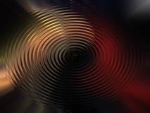 Achtergrond van gekleurde cirkelgolven royalty-vrije illustratie