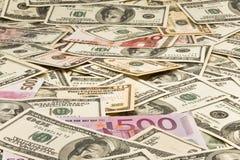 Achtergrond van geld Royalty-vrije Stock Afbeelding