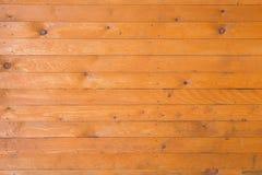 Achtergrond van gele geschilderde raad Stock Foto's