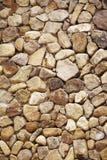 Achtergrond van gele rotsen Stock Afbeeldingen