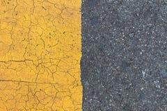 Achtergrond van gele zwarte stroken  stock fotografie