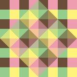 Achtergrond van geometrische vierkanten vector illustratie