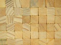 Achtergrond van gestapelde vierkante bars Stock Afbeeldingen